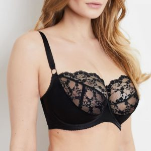 Sophia Black Lace Bra
