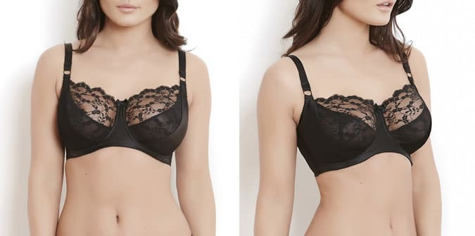 c45a96fe9126e Very traditional in the making the Sophia bra is not padded and creates a  balconette plunge