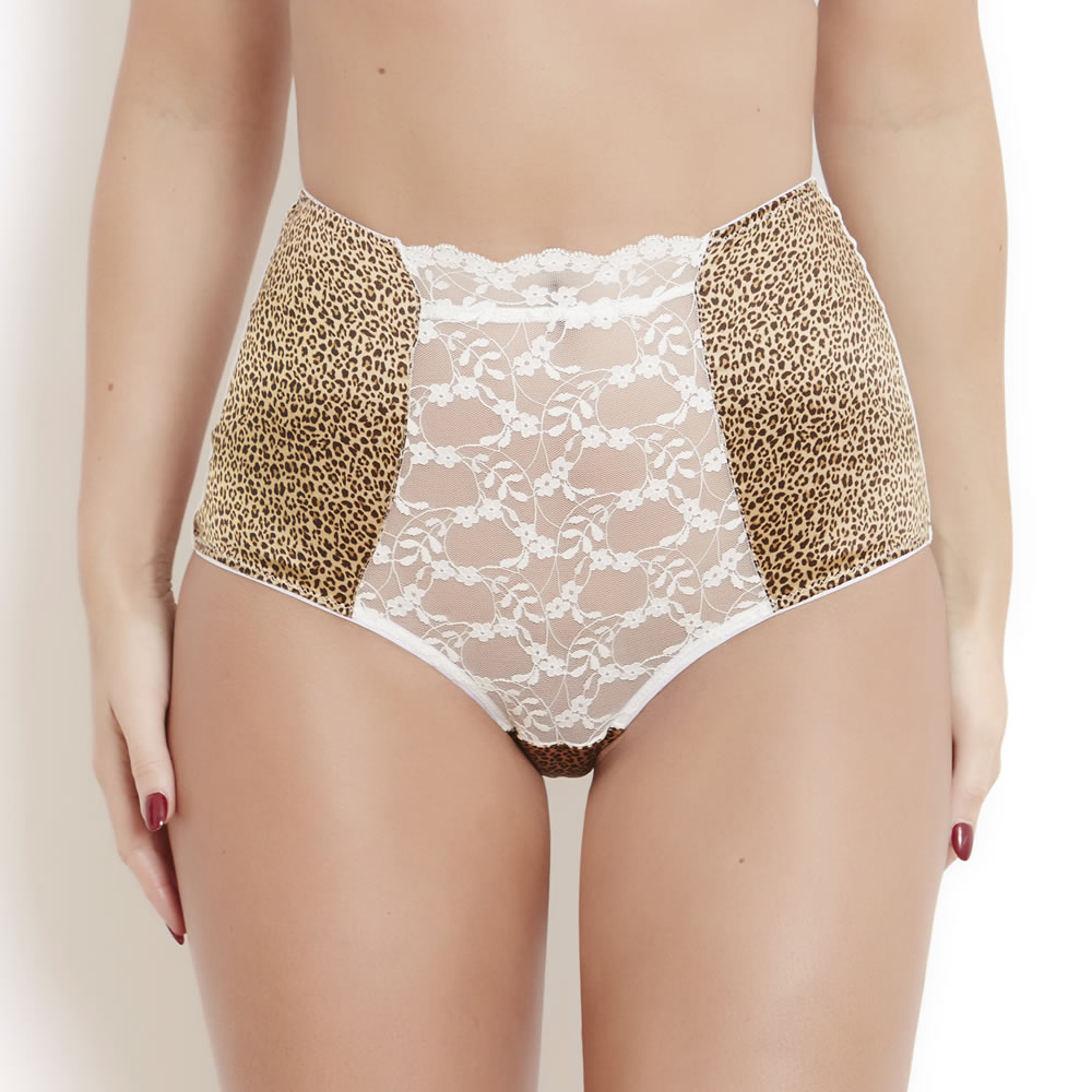 Sophia Leopard High Waist Brief 8