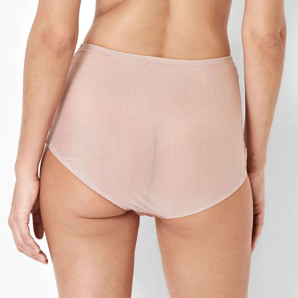 Abbie Pink Lace High Waisted Knickers  67d7b0c47bb1