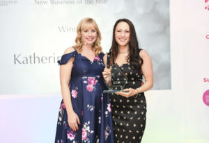Katherine Hamilton wins 'New Business of the Year' UKLA 2018
