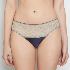 Victoria Midnight Gold Knicker 12