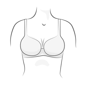 Moulded Bra Illustration