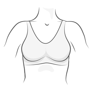 Sports Bra Illustration