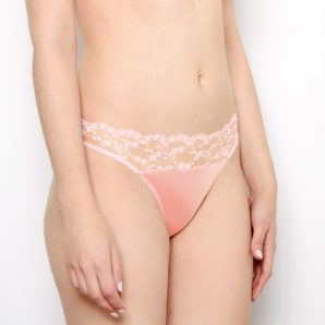 Sophia Blush Lace Knickers